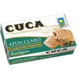 Atún Claro Aceite Oliva Virgen Extra Ecológico Cuca 81 G.