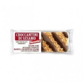 Barritas Sésamo Con Chocolate Fondant Bio. Fiorentini.