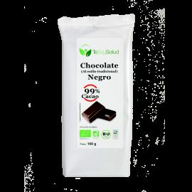 Chocolate Negro (99% Cacao) Bio 100 Gr Tedoysalud