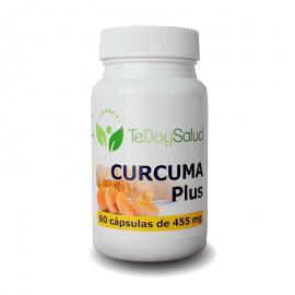 Cúrcuma Con Pimienta Plus - 60Cápsulas/455 Mg. Tedoysalud