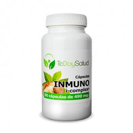 Inmuno I-Complex (Uña de Gato, Shitake, Reishi) – 80Caps./490Mg. Tedoysalud – Analgesico / Sistema Inmunitario