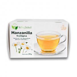 Infusión Manzanilla Ecológica 20 Filtros Tedoysalud