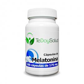 Melatonina -  100 Capsulas / 175 Gr. Tedoysalud - Ciclo del Sueño