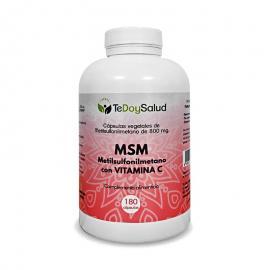 Msm + Vitamina C -180 Cápsulas Tedoysalud - Articulaciones / Analgésico