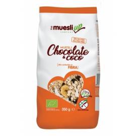 Muesli Con Chocolate y Coco Bio Sin Gluten 350 Gr.