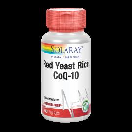Red Yeast Rice Q10 - 60 Cápsulas. Solaray