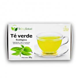 Te Verde Ecológico 20 Filtros Tedoysalud