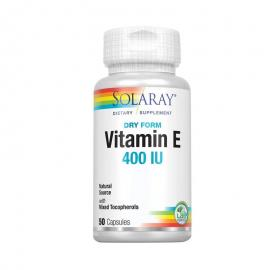 Vitamina e - 50Perlas/400Ui - Solaray