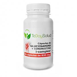 Glucosamina + Condroitina I-Complex (+Msm +Harpagofito) 60 Caps. / 820 Mg Tedoysalud - Articulaciones