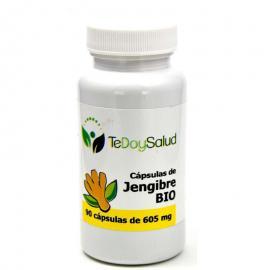 Cápsulas de Jengibre Bio  650 Mg. 90 Un. Tedoysalud