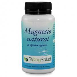 Cápsulas de Magnesio Natural Bio 60 Unidades Tedoysalud