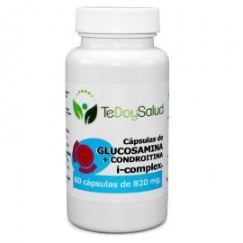 Cápsulas Glucosamina + Condroitina I-Complex (+Msm +Harpagofito) 820 Mg Tedoysalud