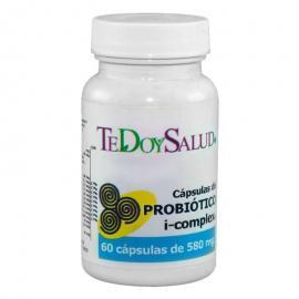 Cápsulas Probiotico I-Complex Bio 580 Mg 60 Undes. Tedoysalud