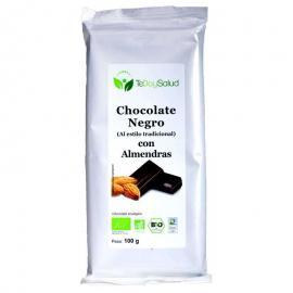 Chocolate 56% Con Almendras Bio 100Gr.