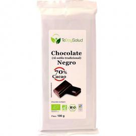 Chocolate Negro 70% Cacao Bio 100Gr.