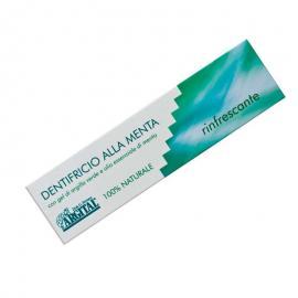 Dentífrico Natural A la Menta 75 Ml. Argital