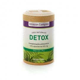 Detox Depuración Natural Bio 12 Cáp. 450 Mg. - Amazon Complex